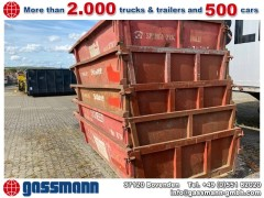 Andere City-Abrollcontainer mit Klappe 3m³ Stapelbar
